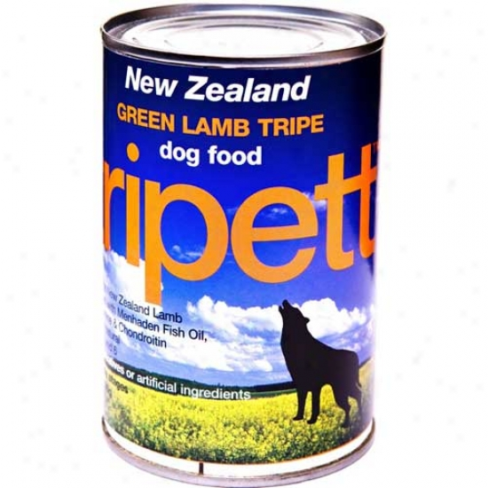 Tripett Lamb Tripe 13.2oz Case Of 12 Cans