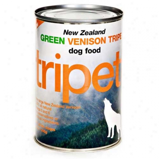 Tripett Venison Tripe 13.2oz Case Of 12 Cans