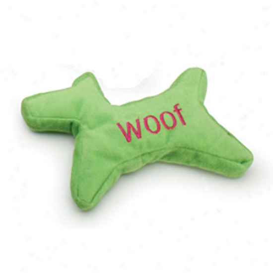 Tuff Plush Cookie Cutter Woof Small