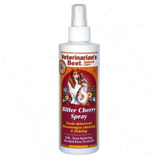 Veterinarians Best Natura Care Bitter Cherry Spray