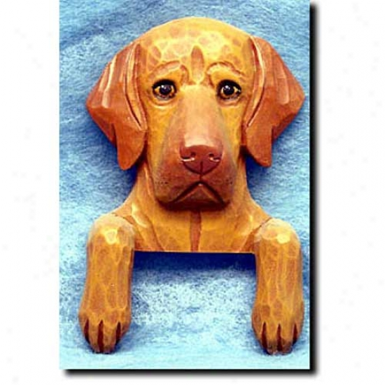 Vizsla Door Topper