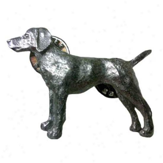 Vizsla Pewter Pin