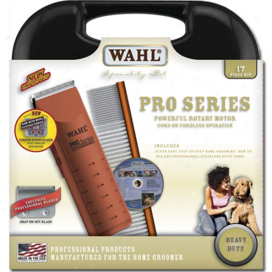 Wahl Pro Series Rechargeable Cord-cordless Pet Clipper