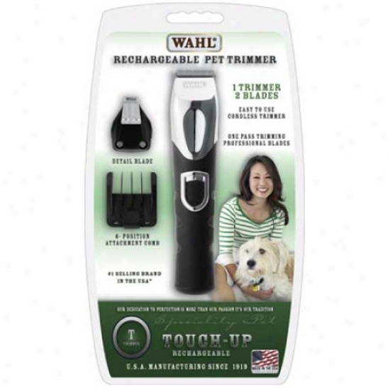 Wahl Touch-up Rechargeable Dual Head Trimmer