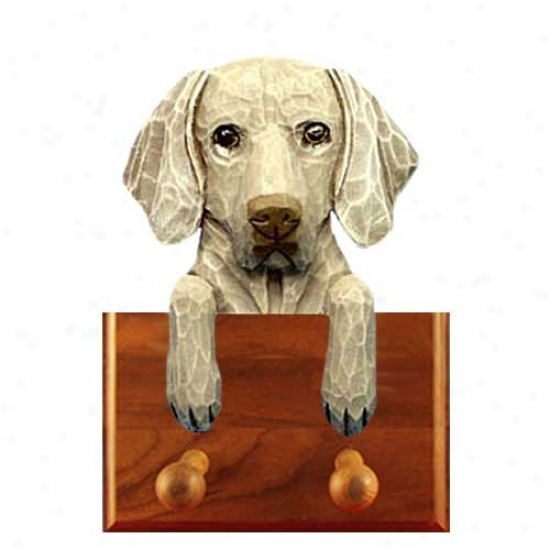 Weimaraner Three  Holder