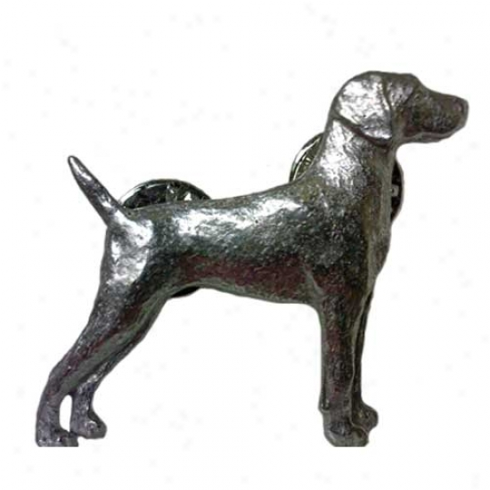 Weimaraner Pewter Pin