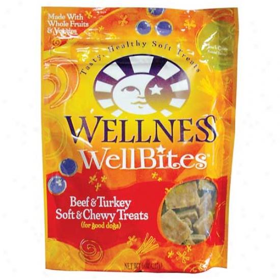Wellbites Beef And Turkey Dog Treats 8oz
