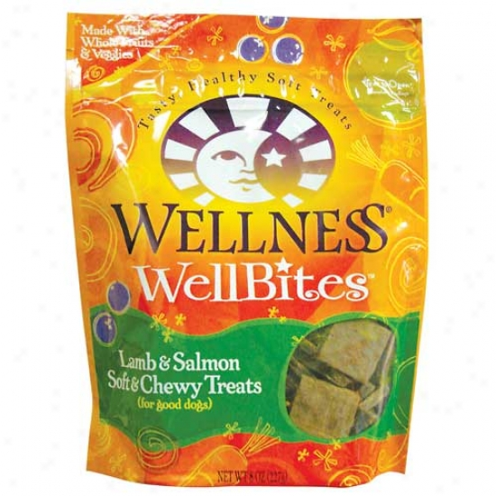 Wellbites Lamb And Salmon Doog Treats 8oz