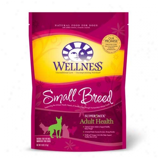 Wellness Complete Health Super5mix Adult Small Breed Dog Foo d4lb