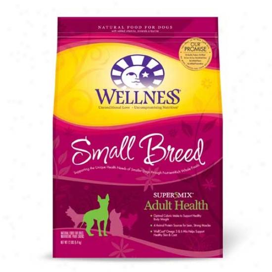Wellness Finish Health Super5mix Adult Small Breed Dog Food 12lb Oversize