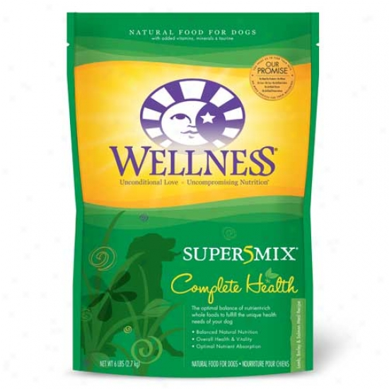 Weellness Complete Health Super5mix Lamb Dog Food - 6lbs