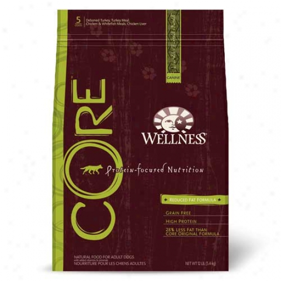 Wellness Core Reduced Fat Recipe 12lbs Oversize