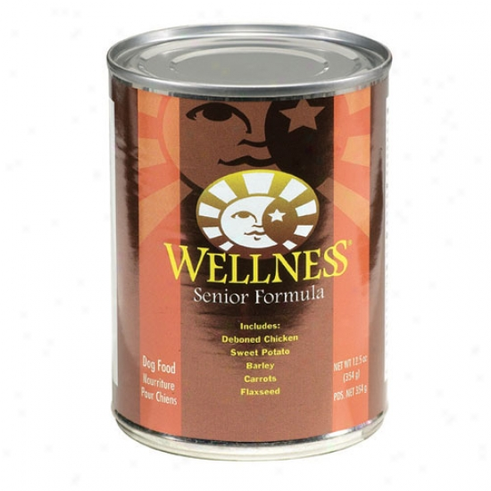 Wellness Senior Recipe 12.5oz Case Of 12 Cans