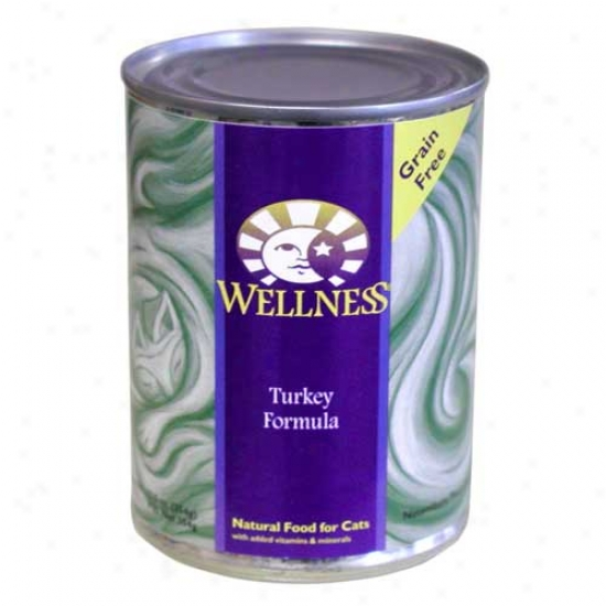 Wellness Turkey Recipe 12.5oz Case Of 12 Cane