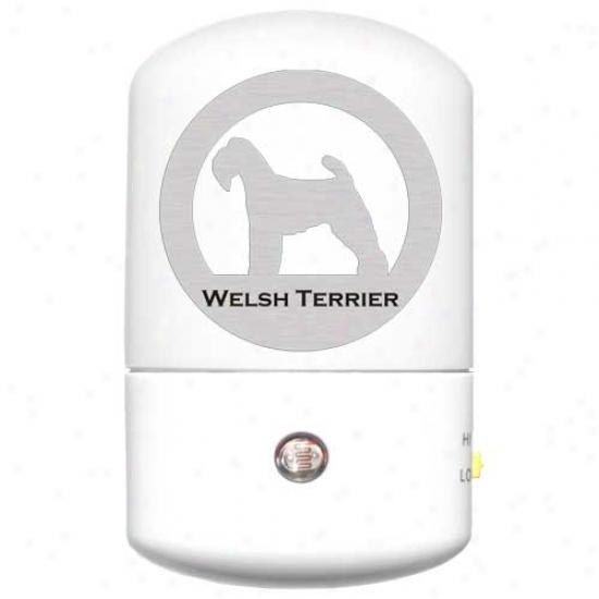Welsh Terrier Led Night Ligth