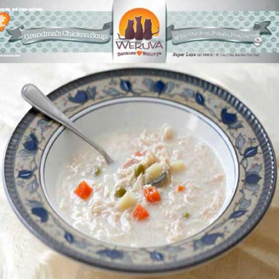 Weruva Granddmas Chicken Soup Cat Food 3oz Case Of 24 Cans