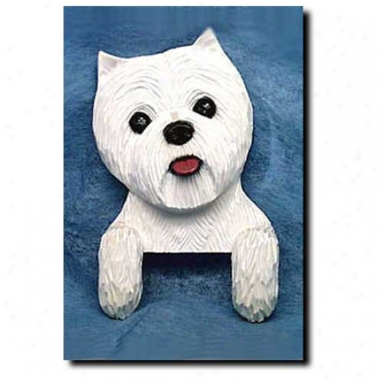 West Highland White Terrier Door Topper