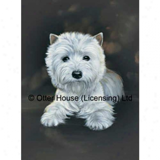 West Highland White Terrier Flag