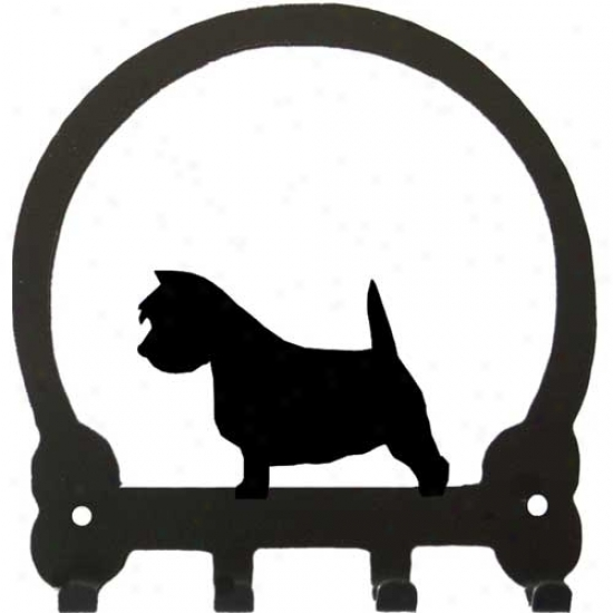 West Highland White Terrier Clew Rack By Sweeney Extended elevation