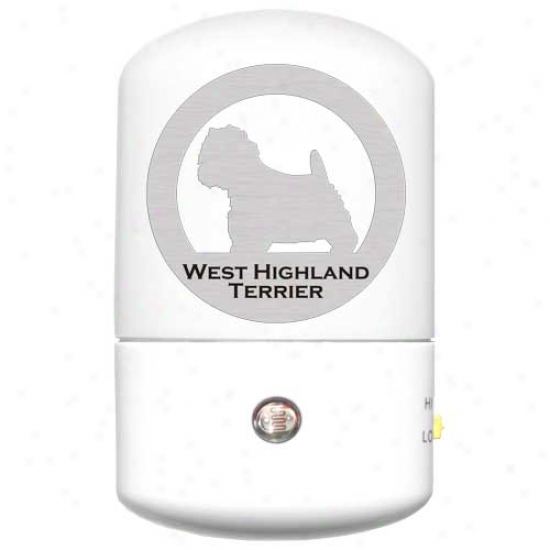 West Highland White Terrier Led Night Light