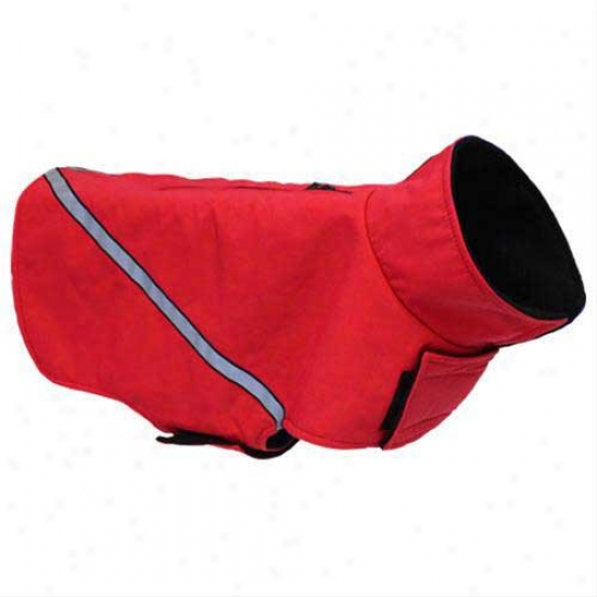 Whistler Zip Line 2.0 Dog Coat By Rc Pet Red 10 In Long
