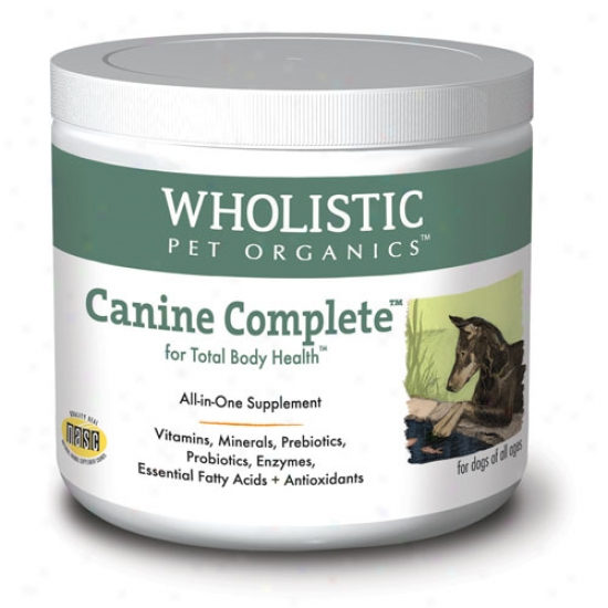 Wholistic Pet Canine Complete Organic Suppldment 4lb