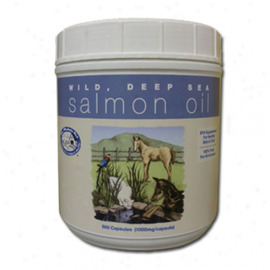 Wholistic Pet Salmon Oil 500 Capsules