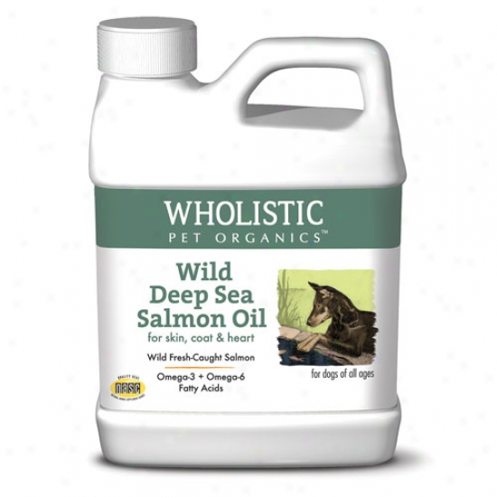 Wholistic Pet Salmon Oil 64oz Liquid