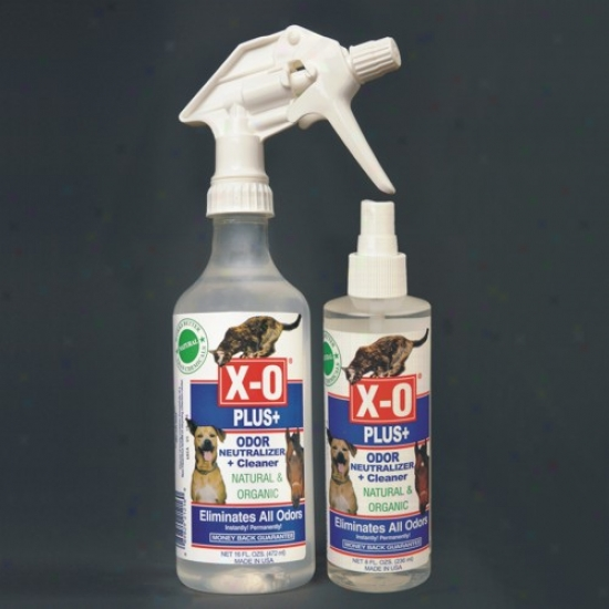 X-o Pllus Odor Neutralizer And Cleaner 4oz
