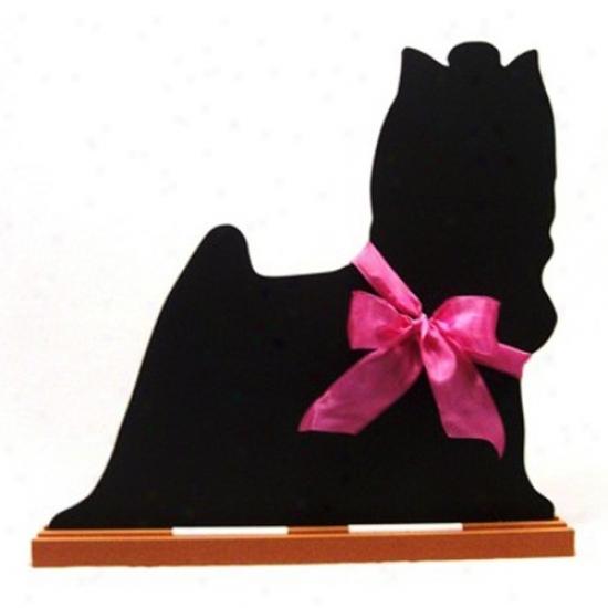 Yorkshire Terrier Blackboard - Table  Model