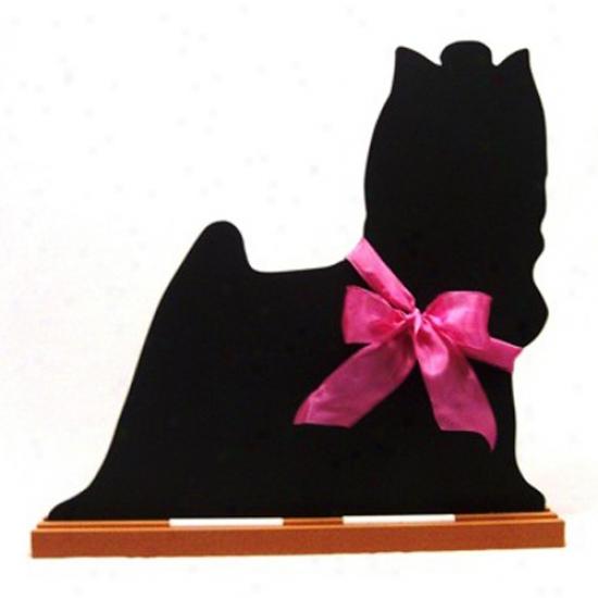 Yorkshire Terrier Blackboard - Wall Model