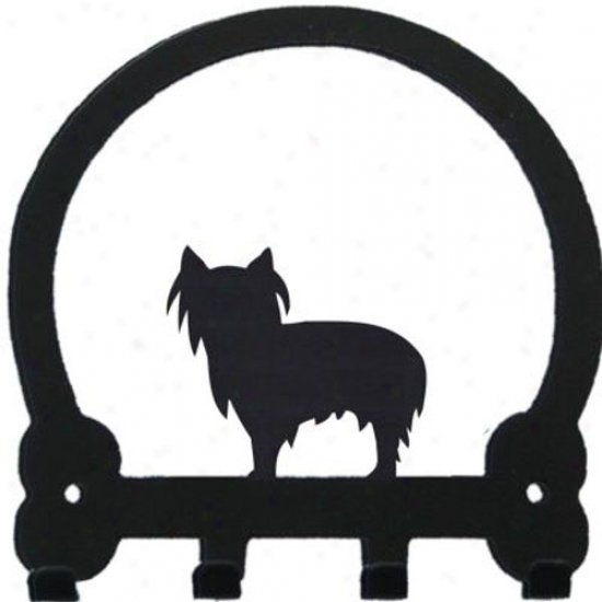 Yorkshire Terrier Key Rack By Swewney Ridge Pet Clip