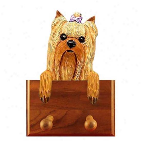 Yorkshire Terrier Leash Holder